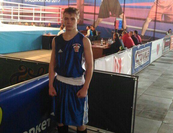 В составе молодежной сборной России - Андрей Чунихин